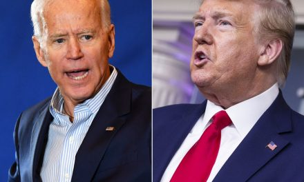 Trump and Biden are deadlocked in six key 2020 election states, CNBC/Change Research poll finds