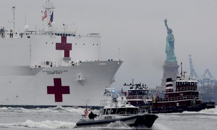 USNS Comfort to leave New York City after spending three weeks mostly empty of patients