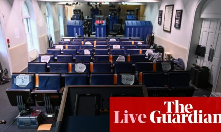 Coronavirus US live: White House cancels briefing amid concerns over Trump remarks