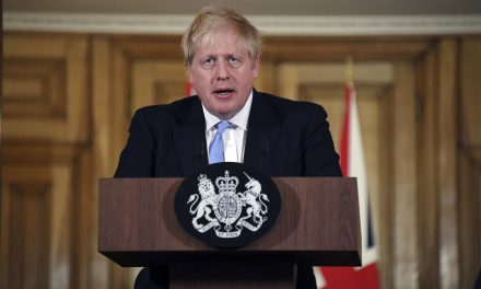 PM Boris Johnson says UK is 'past the peak' of the coronavirus outbreak