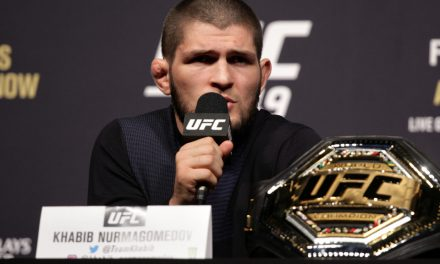 Khabib Nurmagomedov confirms he's out of UFC 249: 'I can't control it all'