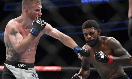 UFC free fight: Justin Gaethje stops Michael Johnson in thrilling debut