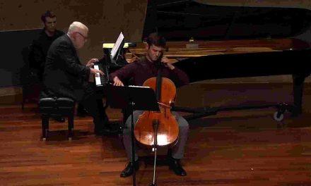 Unemployed cellistputs on porch performances