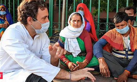 Congress releases documentary on Rahul Gandhi's interaction with migrants