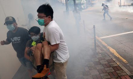 Hong Kong protest kicks off against proposed security law