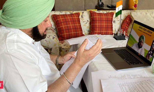 P'jab CM favours lockdown extn, seeks fiscal support