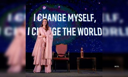 Dia Mirza unites for humanity with Tring